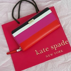 NWOT Kate Spade Neda Laurel Way Bonita wallet